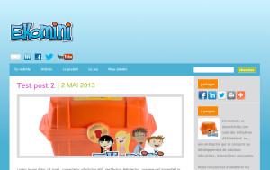 Blogue Ekomini